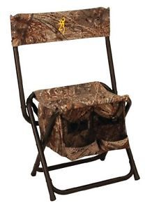 Browning Camping Camo Dove Shooter Hunting Folding Chair