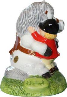 Thelwell Pony Piggy Bank Money Box John Beswick Original Hand Painted Figurine