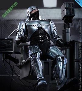 Hot Toys 1987 Robocop Alex Murphy Diecast Mechanical Chair Docking Station 1 6