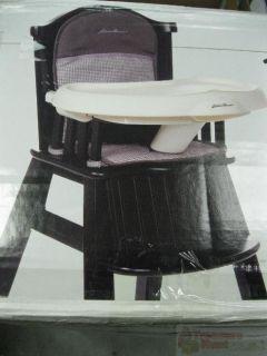 Eddie Bauer Classic Wood High Chair Caitlin
