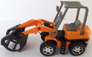 B Grapple Loader Tractor Modern Construction Diecast Mini Track Kids Toy New