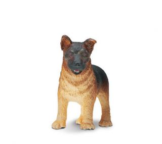 German Shepherd Puppy 235629 Free SHIP w Purchase $25 Safari