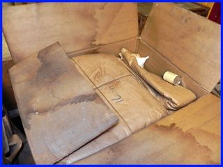 Vintage s s White Diamond Chair 3 Dental Chair 1952 Crated Never Opened Tattoo