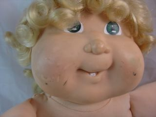 Vintage 80s Grow Hair CPK Cabbage Patch Kids Doll RARE