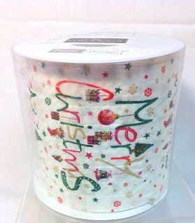 Merry Christmas Festive Holiday Designed Toilet Paper Roll 3 Ply 200 Sheets