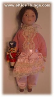 American Girl Samantha Christmas Doll Clara Nutcracker