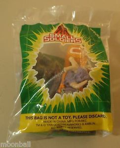 RARE Small Soldiers Burger King Kid's Meal Toy SEALED Boulder Blasting Insaniac