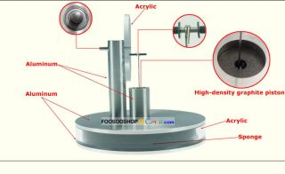 Cool Ringbom Stirling Engine Low Temperature Run on Hand Router
