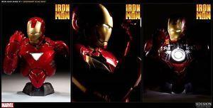 Iron Man Mark VI Legendary Scale Bust Avengers Batman Hot Toys
