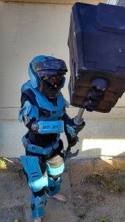 Halo Reach Air Assault Armor Free Repaint Cosplay Costume Replica Prop