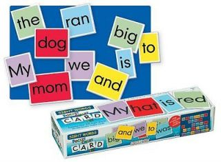 Preschool Toys Smethport Pocket Chart Cards Sight Words Fun Activity New Fast S
