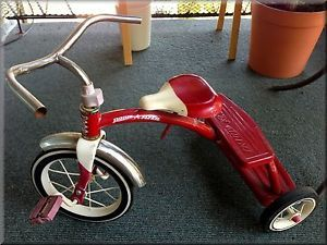 Antique Vintage Radio Flyer 3 Wheel Toddler Bike Bicycle Tricycle