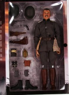 "Sideshow Bayonets Barbed Wire WWI WW1 German Officer 1917 New 12"" Figure"