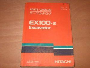 Hitachi EX100 2 Excavator Parts Book Catalog Manual