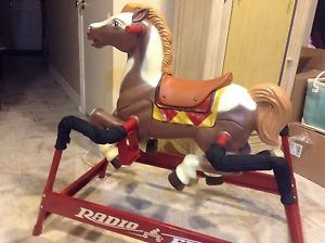Radio Flyer Champion Spring Horse MODEL370 Collector's Item No Longer Produced