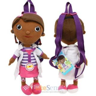 Disney Jr Doc McStuffins Plush Doll Backpack Plush Toy Bag