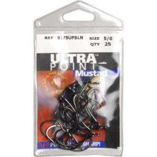 Mustad O'Shaughnessy Live Bait Hook 25 Pack Size 5 0 Opti Angle Needle Point