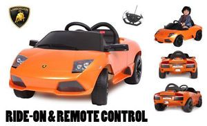 Licensed Lamborghini Murcielago LP640 Baby Kids Ride on Power Wheels Toy Car O