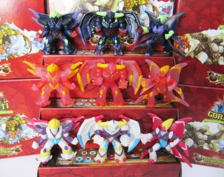 Gormiti Figures Giochi Action Figure Toy Big Size New Series RARE 9pc