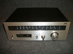 JVC Model JT V31 Vintage Home Audio Am FM Stereo Radio Tuner Tested Working
