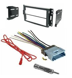 Double DIN Aftermarket Radio Stereo Install Installation Dash Kit Wire Harness