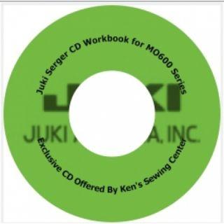 Juki 654DE Serger Sewing Machine 3 4 Thread Kit 189684000114