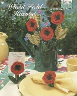 Plastic Canvas Pattern Wheat Field Harvest Patterns Instructional