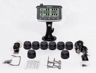 Tire Pressure and Temperature Monitoring Systems TPMS 8 Sensor System