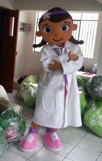 New Doc McStuffins Mascot Costume Character Doctor 11b
