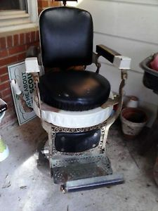 Antique Hercules Barber Chair