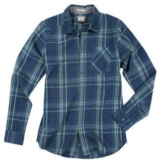 Volcom Why Factor Plaid Mens Shirt Blue Shirts Navy Paint All Sizes
