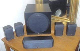 Yamaha Surround Speaker System Powered Sub Woofer NS AP2600C YST SW012