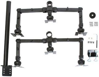 """Monmount Hex Six LCD Monitor Desk Mount Stand Vesa 75 100 Screens Up to 22"""""""