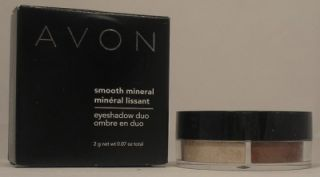 Avon Smooth Mineral Eyeshadow Duo in The Nudes