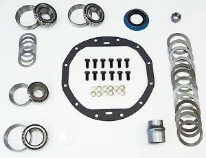 Chevy 12 Bolt Master Bearing Ring and Pinion Installation Kit Car TIMKEN