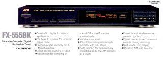 FX 555 JVC FM Am Computer Controller Tuner