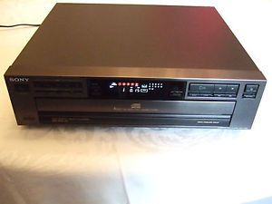 Sony CDP C321 Five Disc Changer CD Compact Disc Player Home Theater Audio Stereo