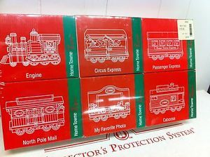 JC Penney Home Towne Express Christmas Train Cars 1998 Edition Six Cars RARE