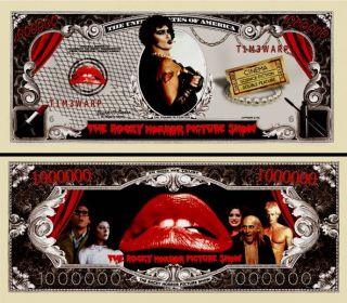 Our Rocky Horror Picture Show Dollar Bill 2 $1 00