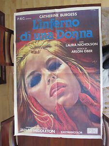 Through The Looking Glass Movie Poster Italian Horror Giallo Jamie Gillis