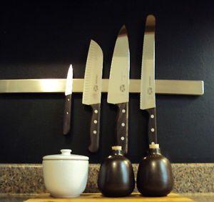 "IKEA 16"" Magnetic Knife Rack Stainless Steel Scissors Tools Holder Bar Grundtal"