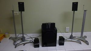 Sony SS CNP75 SS MSP75 and SA WMSP75 Surround Sound Speaker Home Theater System