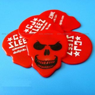 4 x Halloween Vampire Skull Horror Scary Monster Guitar Pick Cool Gift
