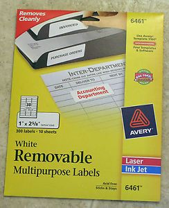 Avery dennison address labels price on popscreen for Avery dennison label templates
