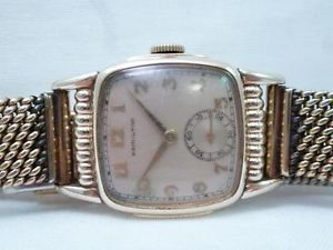 Hamilton 10K Gold Filled Watch