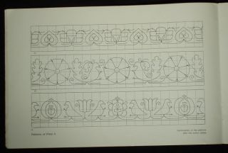 Book Czech Slovak Folk Embroidery Patterns Ethnic Peasant Charted Design DMC Art