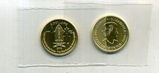 2013 $5 Canada Special Service Force 999 1 4 Ounce Gold Coin Choice BU 6408E