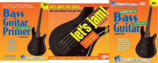 W Introduction to Bass Guitar DVD Book Play Along CDs