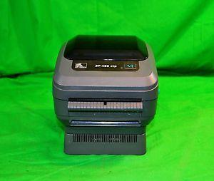 Zebra ZP450 CTP 0502 0004A Label Thermal Printer w Power