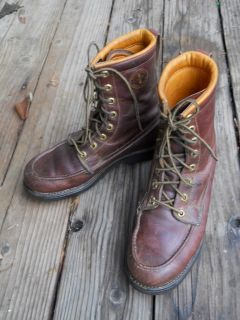 Herman Survivor Boots Sz 8 Insulated to 20 LACERS Hunters Work Hunting Packers